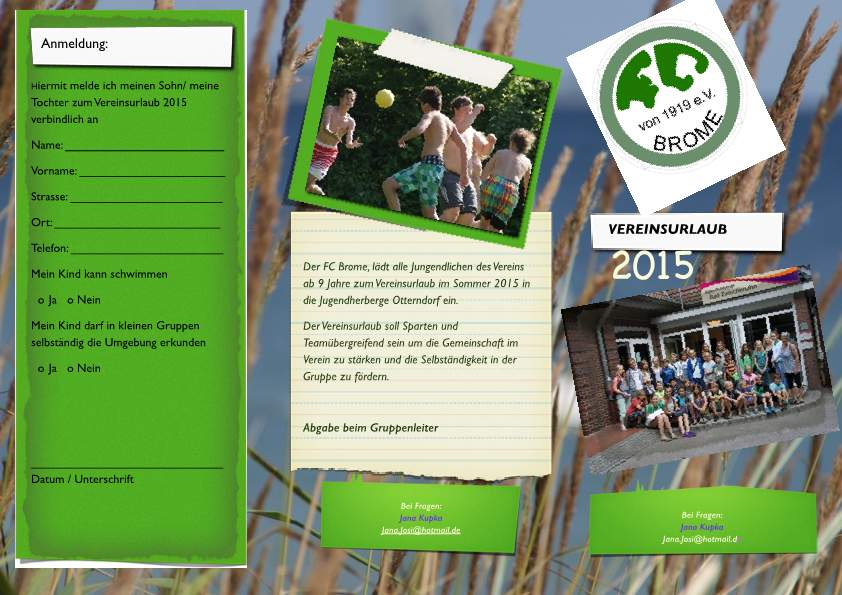 Anmeldung Vereinsurlaub 2015-p1